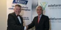 ADEFARMA y ARISTO firman un acuerdo de colaboración para avanzar en la calidad del servicio de las oficinas de farmacia