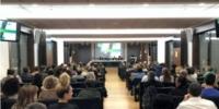 Masiva asistencia a la presentación de #LudaFarma rozando casi los 250 profesionales